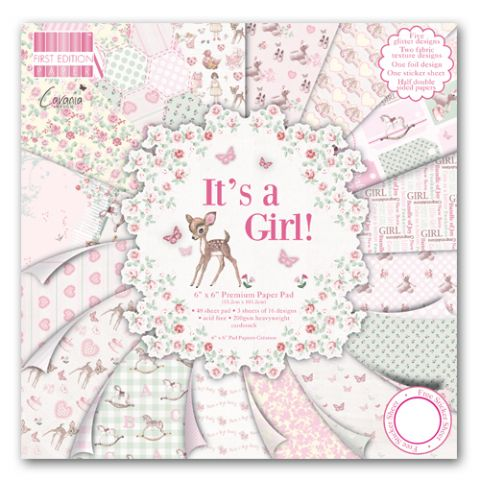 Dovecraft 6X6 - First Edition It's A Girl